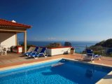 Panoramic sea view from the swimming pool.